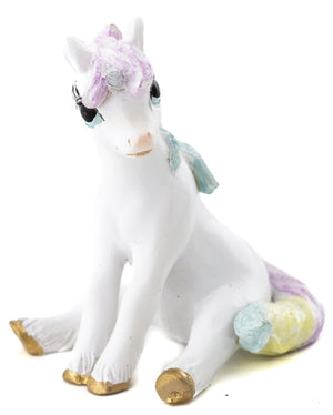 Sparkle Fizz Unicorn Sitting