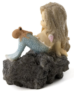 Little Mermaid with Baby Octopus
