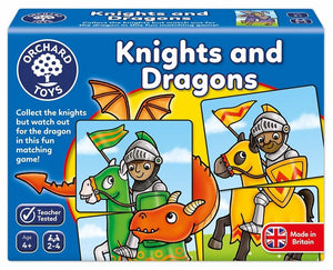 Knights & Dragons Matching Game
