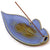 Azure Leaf Incense Holder