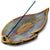 Prism Leaf Incense Holder