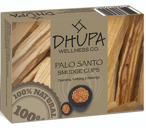 Palo Santo Smudge Incense Cups