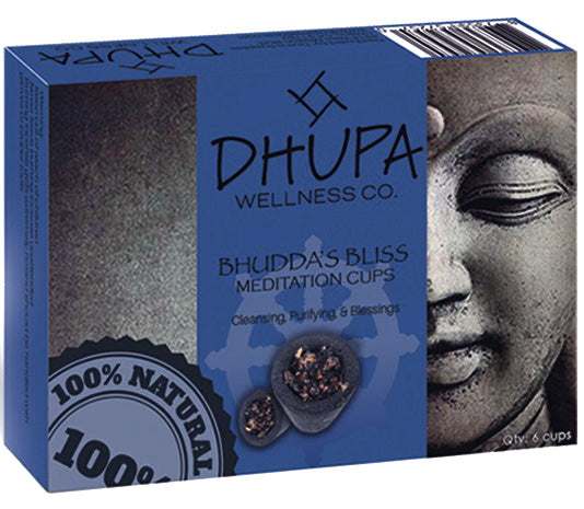 Buddha's Bliss Resin Incense Cups