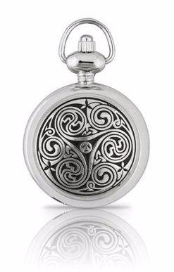 Triple Swirl Pendant Watch