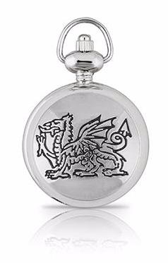 Welsh Dragon Pendant Watch