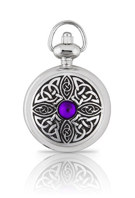Celtic Knot with Stone Pendant Watch