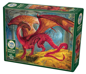 Red Dragon's Treasure Puzzle (1000 Pieces)
