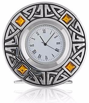 Celtic Topaz Clock -- DragonSpace