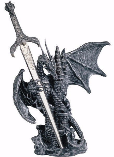 Dragon Castle with Sword -- DragonSpace