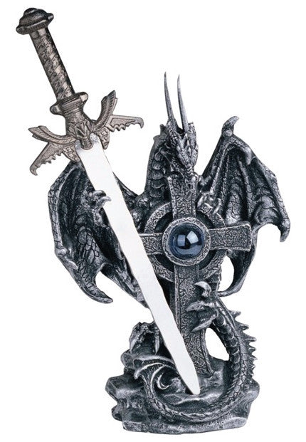 Dragon Cross with Sword -- DragonSpace