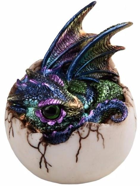 Peacock Dragon Hatchling