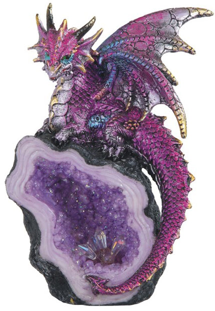 Purple Dragon Geode