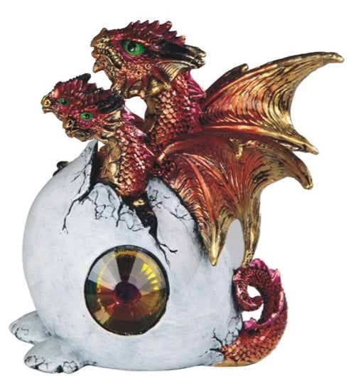 Three-Headed Red Dragon Hatchling
