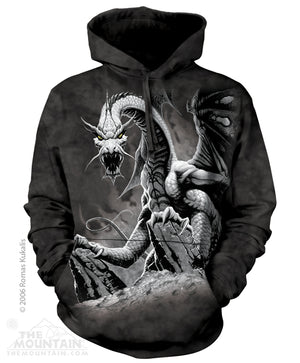 Black Dragon Hoodie -- DragonSpace
