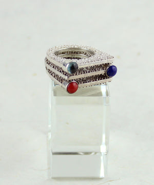 Gemstone Stacker Ring (6)