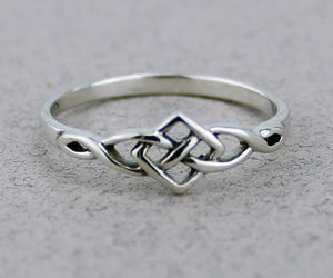 Celtic Weave Ring -- DragonSpace
