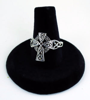 Celtic Cross Ring -- DragonSpace
