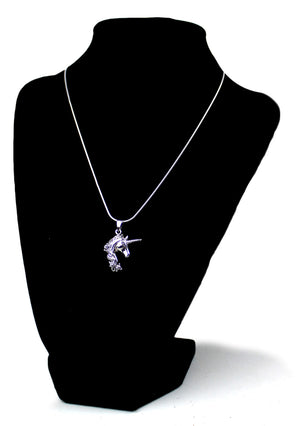 Unicorn Head Pendant