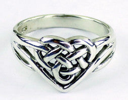 Celtic Heart Ring -- DragonSpace