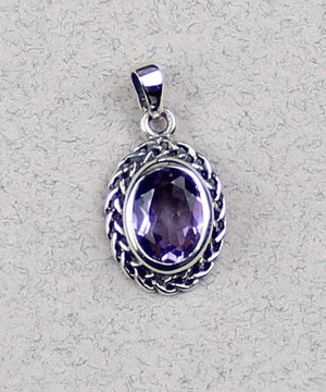 Celtic Pendant with Gem