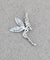 Crystal Wing Fairy Pendant -- DragonSpace