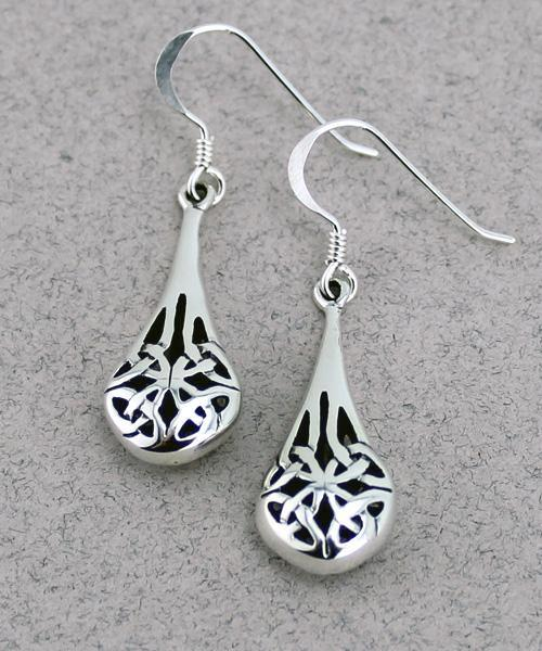 Celtic Orb Earrings -- DragonSpace