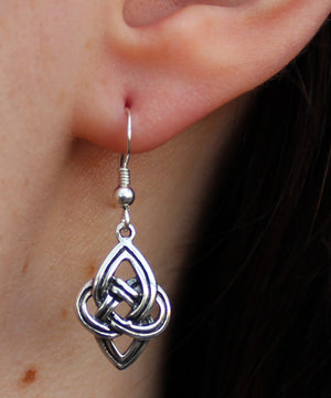Celtic Earrings -- DragonSpace