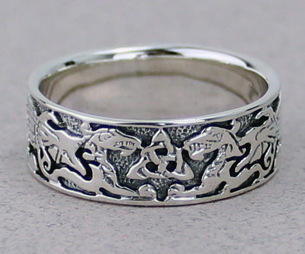 Dragon Band Ring