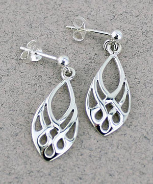 Celtic Stud Earrings -- DragonSpace