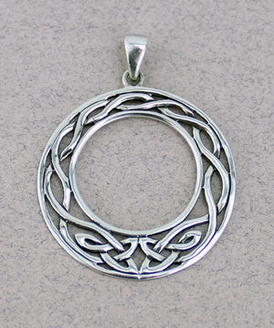 Celtic Hoop Pendant -- DragonSpace