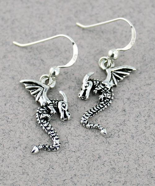Dragon Earrings -- DragonSpace