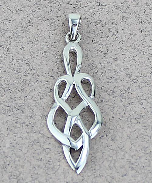 Celtic Pendant -- DragonSpace