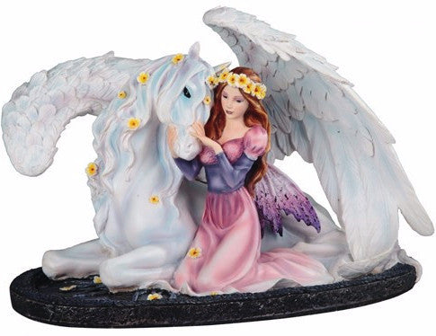 Daisy Fairy with Pegasus -- DragonSpace