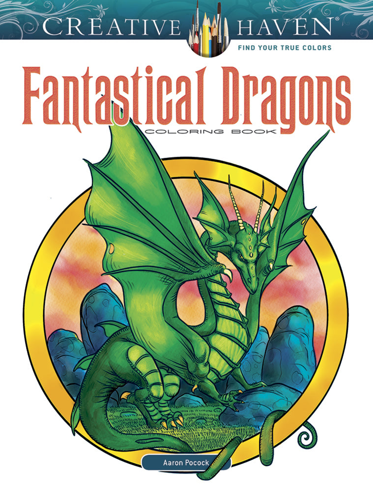 Fantastical Dragons Coloring Book
