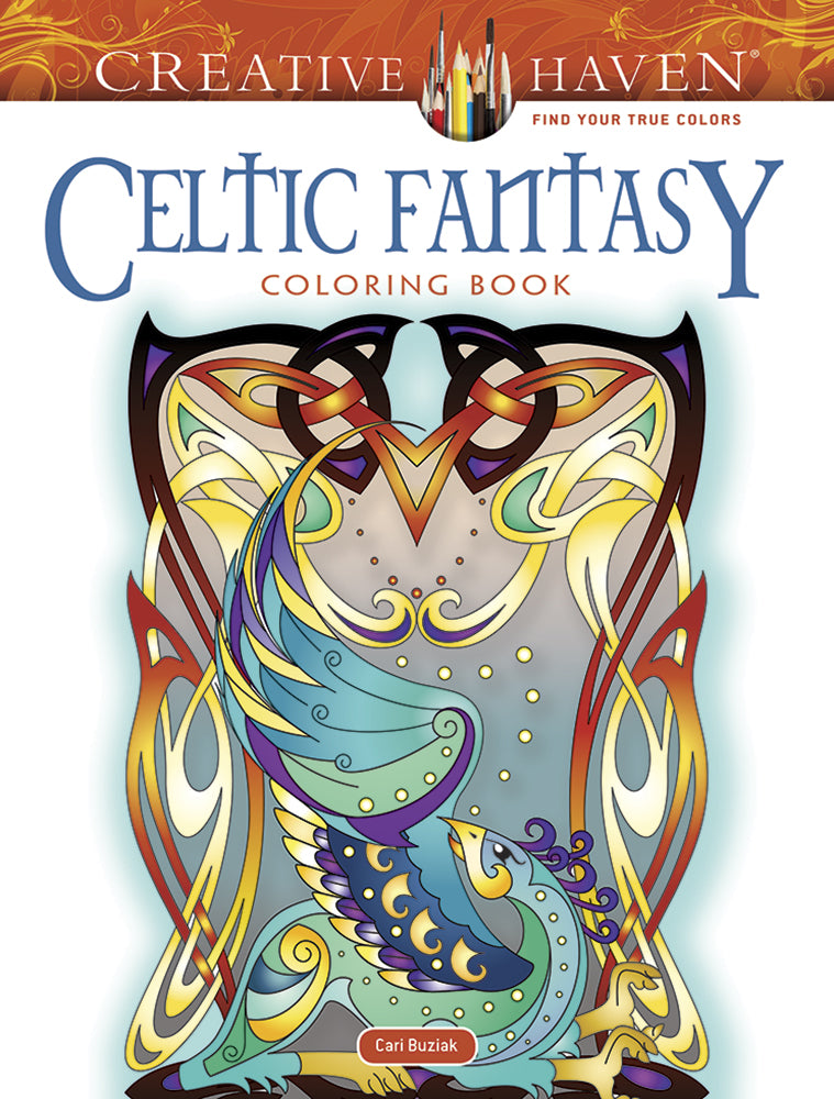 Celtic Fantasy Coloring Book