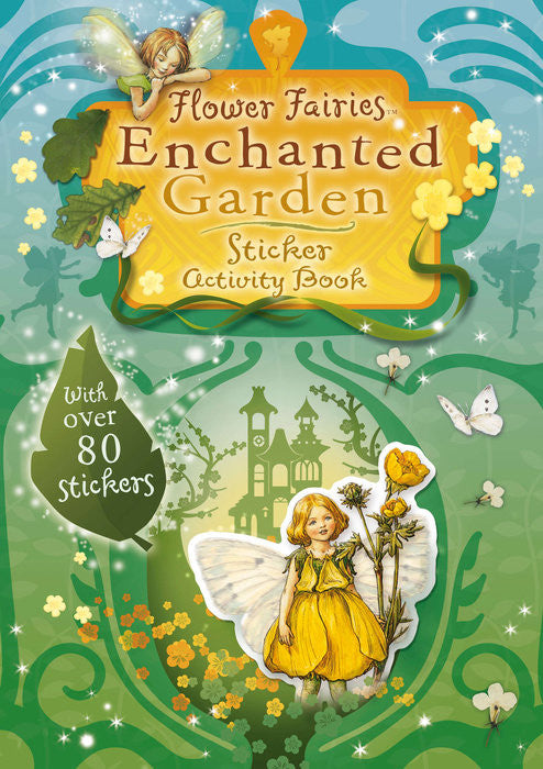 Flower Fairies Enchanted Garden Sticker Book -- DragonSpace