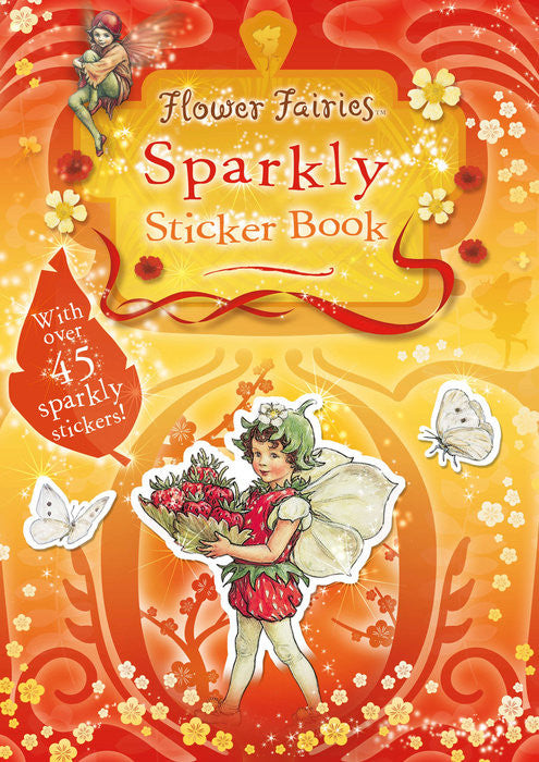 Flower Fairies Sparkly Sticker Book -- DragonSpace