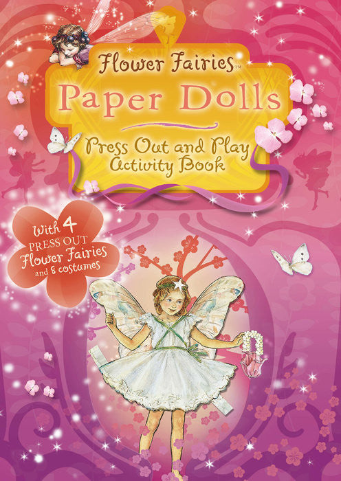 Flower Fairies Paper Dolls -- DragonSpace