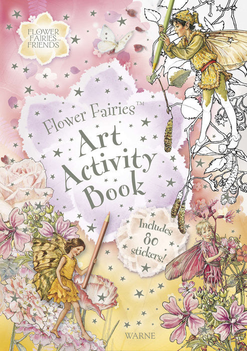 Flower Fairies Art Activity Book -- DragonSpace