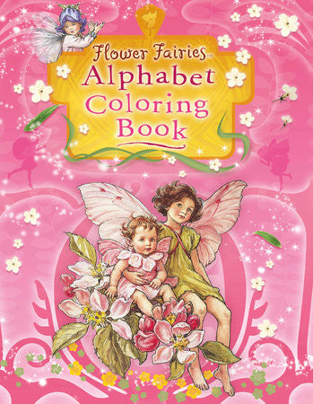Flower Fairies Alphabet Coloring Book -- DragonSpace