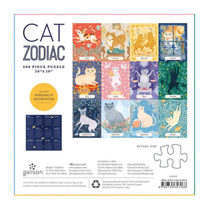 Cat Zodiac Puzzle (500 Pieces)