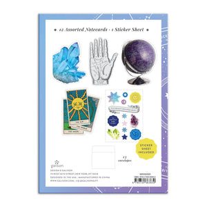 The Future is Yours Shaped Notecard Portfolio