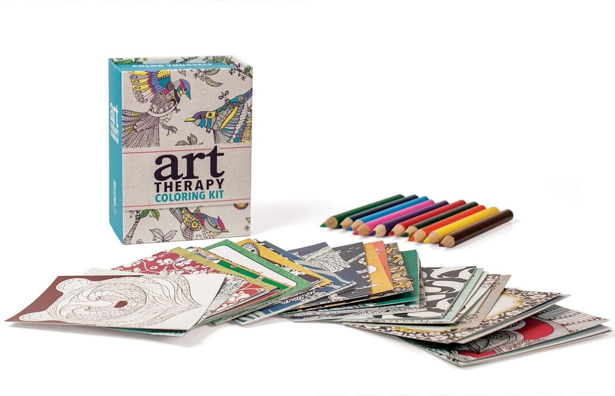 Art Therapy Coloring Kit -- DragonSpace