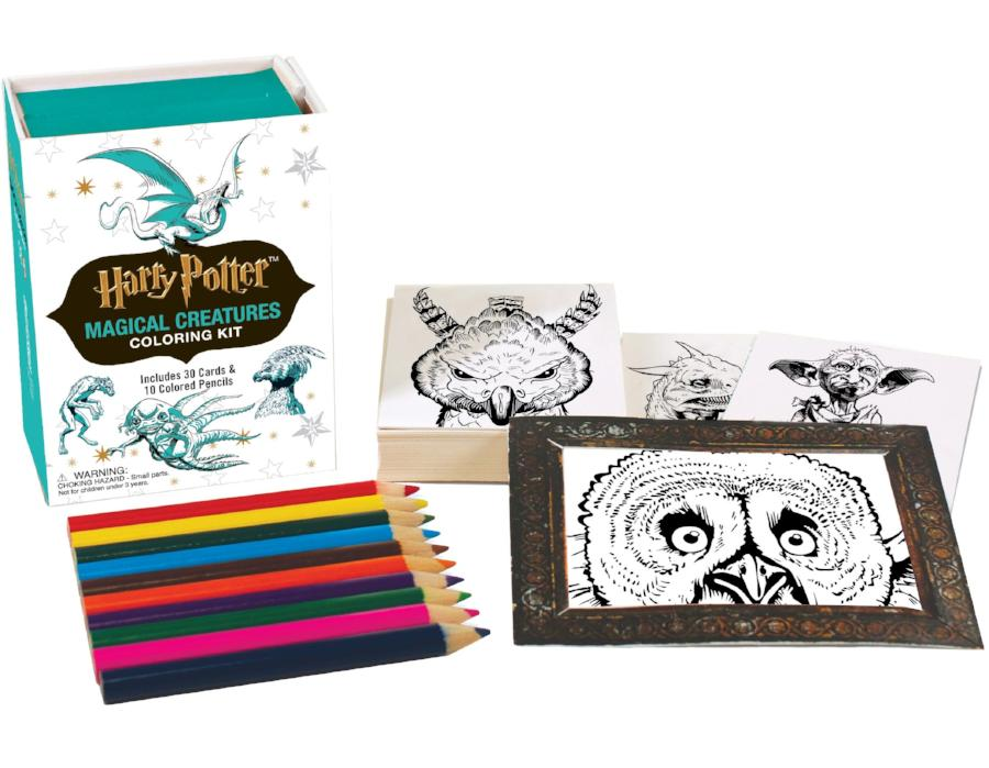 Harry Potter Magical Creatures Coloring Kit