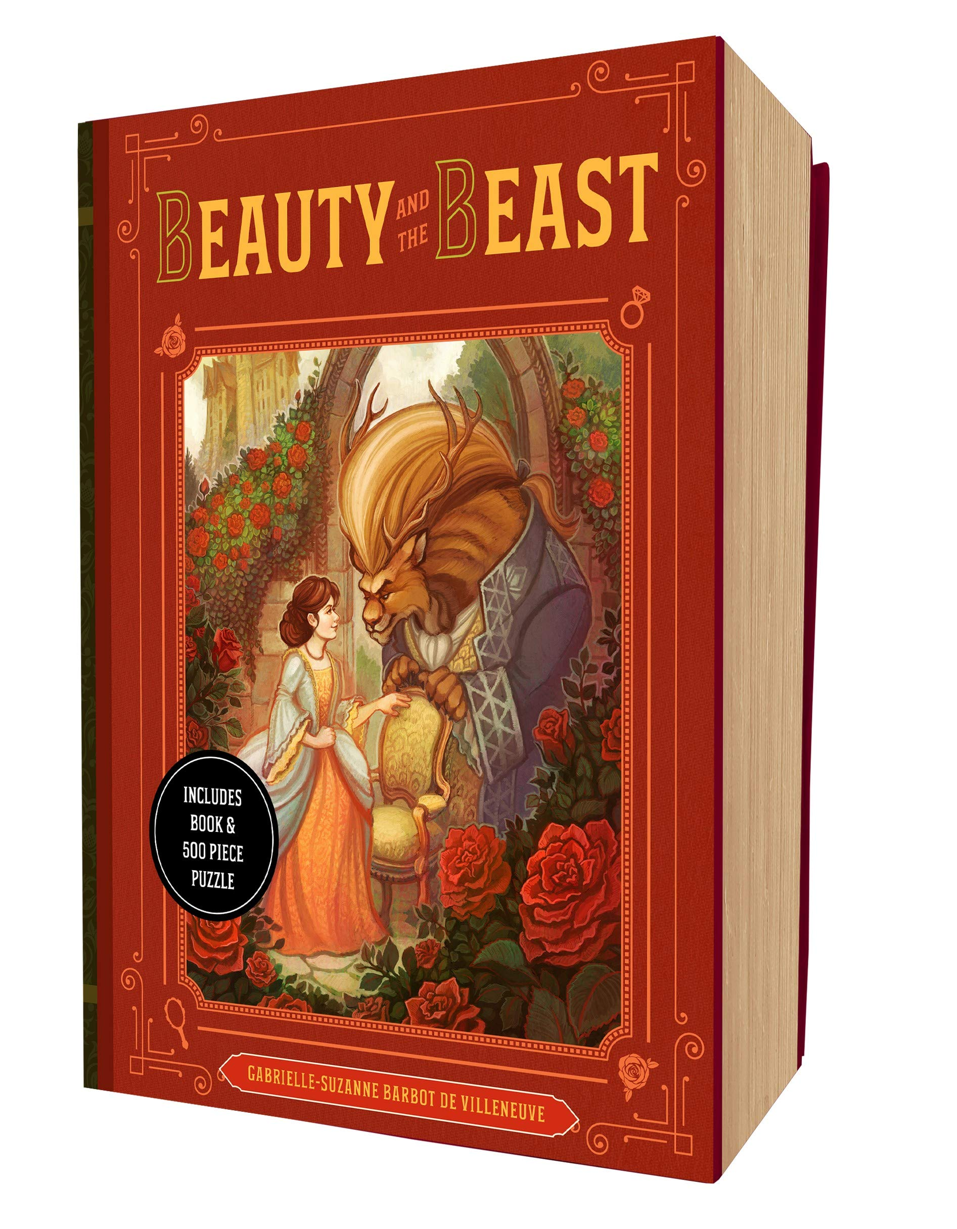 Beauty & The Beast Book and Puzzle Box Set
