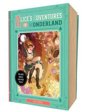Alice's Adventures in Wonderland Book and Puzzle Box Set