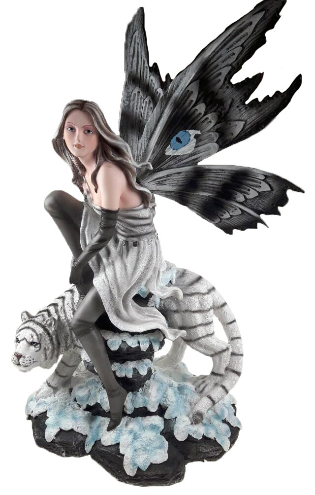 Tigeria Fairy with White Tiger