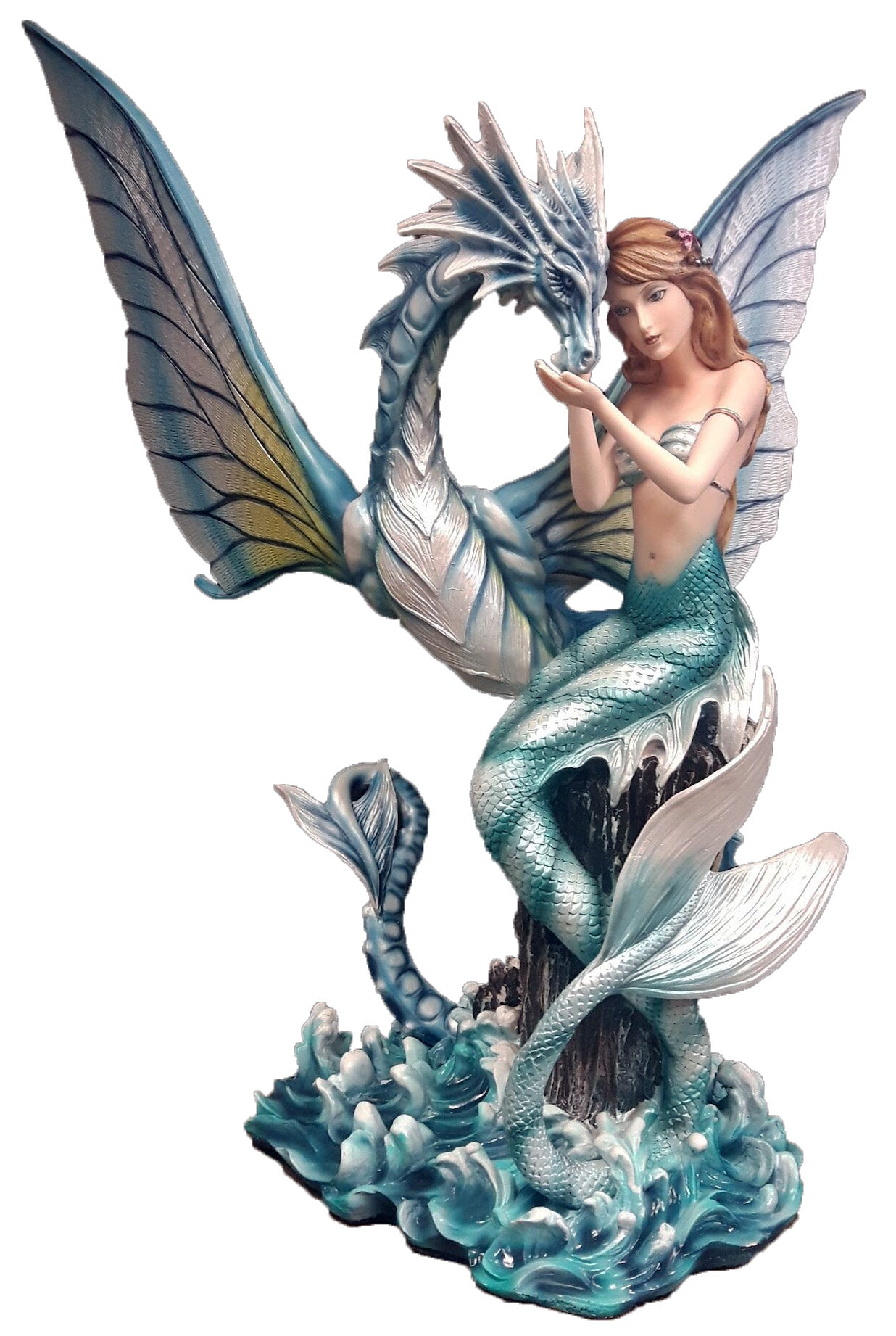 Mermaid with Sea Dragon