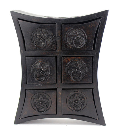Six-Drawer Pentagram Cupboard