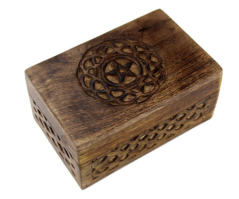 Celtic Pentagram Box